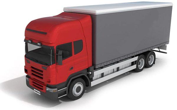 017- 3d Models-Truck