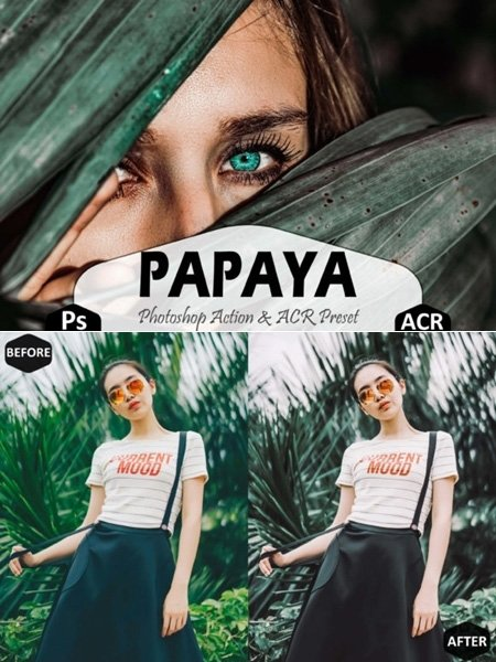 017-Papaya Photoshop Actions and ACR Presets 1668550