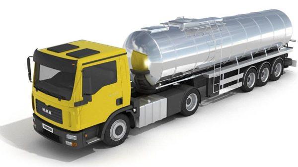 018- 3d Models-Gas Truck