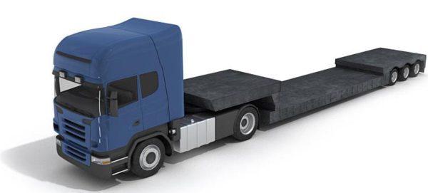 019- 3d Models-Truck