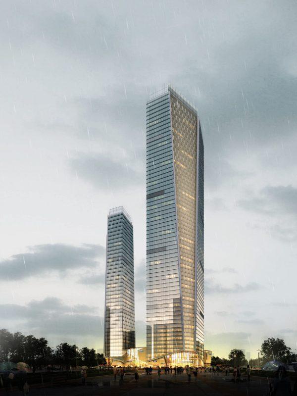High Rise Building 019 Exterior Scene