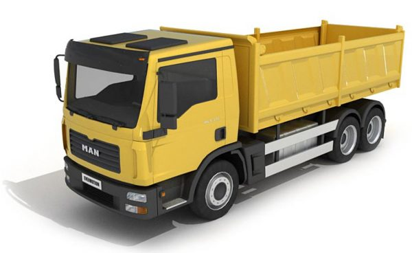 022- 3d Models-Truck