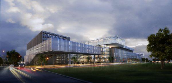 023-Exterior Scenes-Public Buildings-Shopping Mall