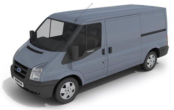 024- 3d Models-Van