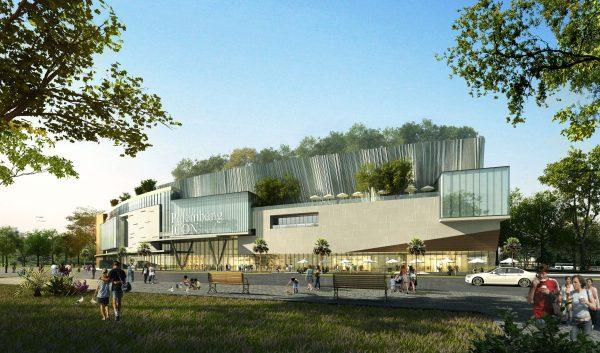 028-Exterior Scenes-Public Buildings-Shopping Mall