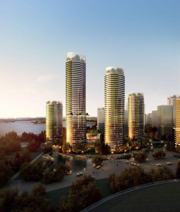 031-Exterior Scenes-High-Rise Buildings-Compound