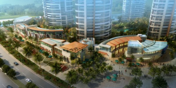 031-Exterior Scenes-Public Buildings-Shopping Mall