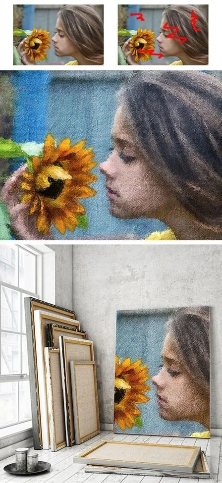034 Painting Photoshop Action 25697827