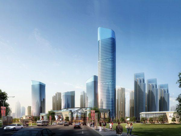 035-Exterior Scenes-High-Rise Buildings