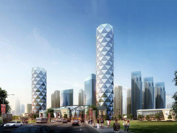 036-Exterior Scenes-High-Rise Buildings