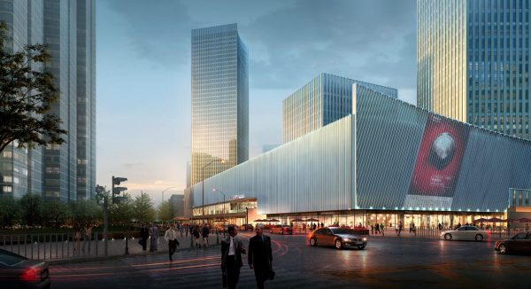 036-Exterior Scenes-Public Buildings-Shopping Mall