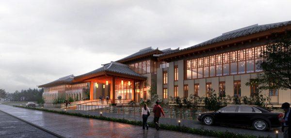038-Exterior Scenes-Public Buildings-Exterior Restaurant