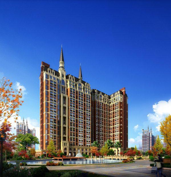 039-Exterior Scenes-High-Rise Buildings