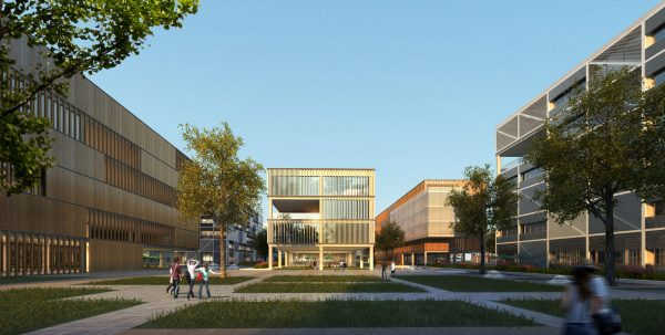 040-Exterior Scenes-Public Buildings-International School