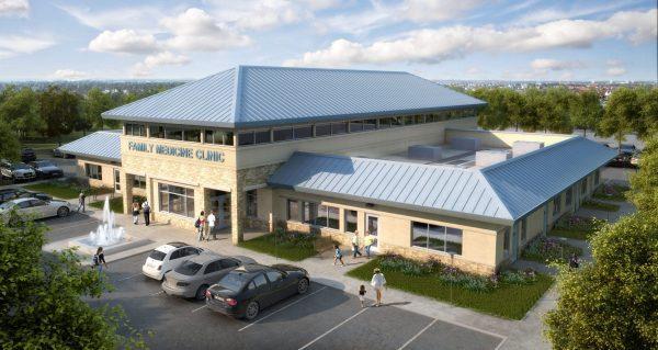 041-Exterior Scenes-Public Buildings-Clinic