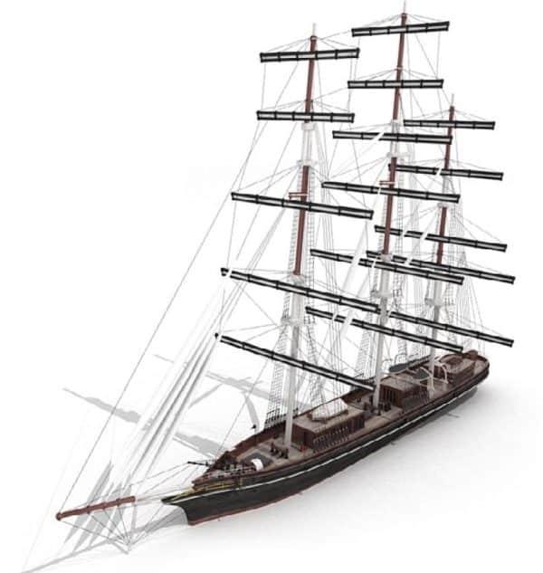 Ship 3d Model  044