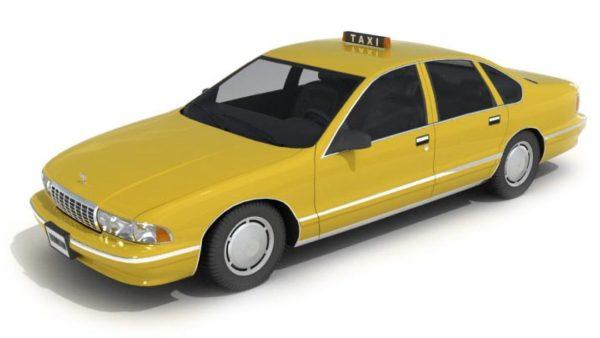 053-3d Models-Cars-Taxi