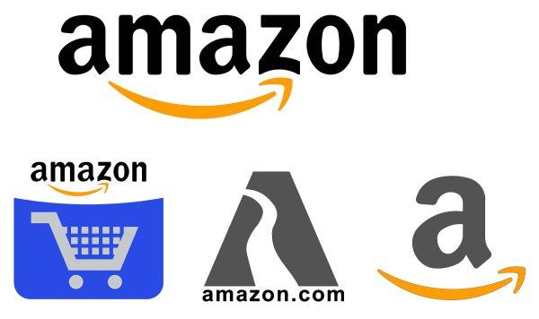 Amazon Logo Cad Block 002