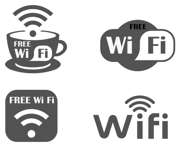 Wi-Fi Symbol Cad Blocks  017