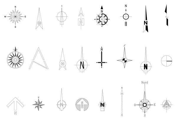 Nord Vector Symbol Cad Blocks 021