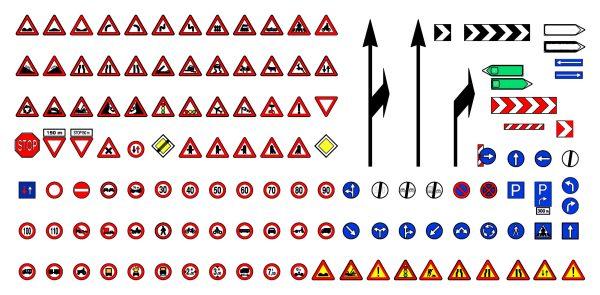 Road Signs Cad Blocks 1  038