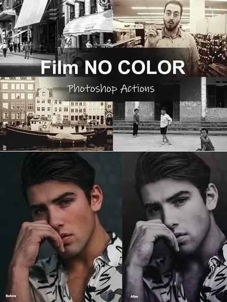 052 Film NO COLOR – Photoshop Actions 4564101