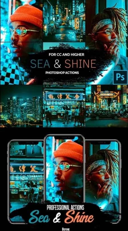 057 Sea & Shine- Photoshop Actions 25847129