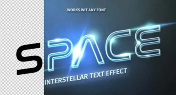 061 Futuristic Text Effect 322370858