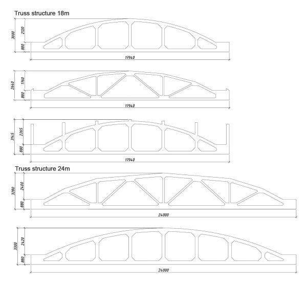 Truss Design Cad Blocks 081