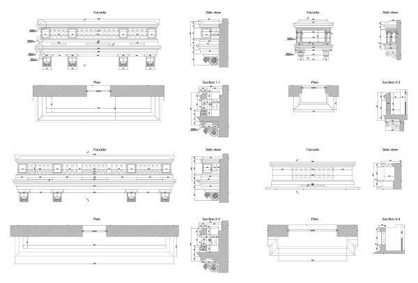 Balcony Details Cad Blocks 083