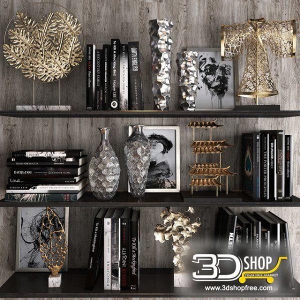 Home Accessories 3d Model 023