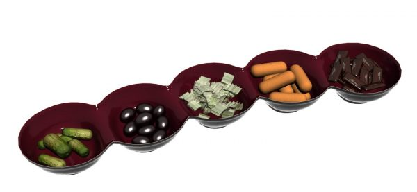 Snacks Plate 3d Models 127
