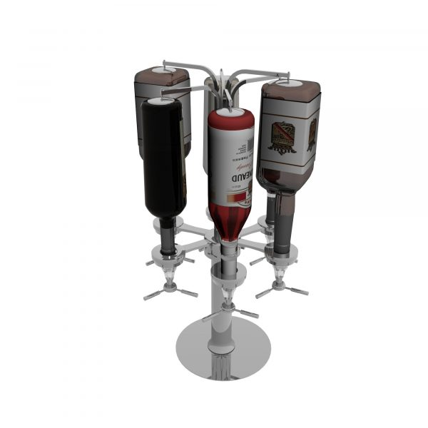Wine Bottles Hanger 3d Models 131