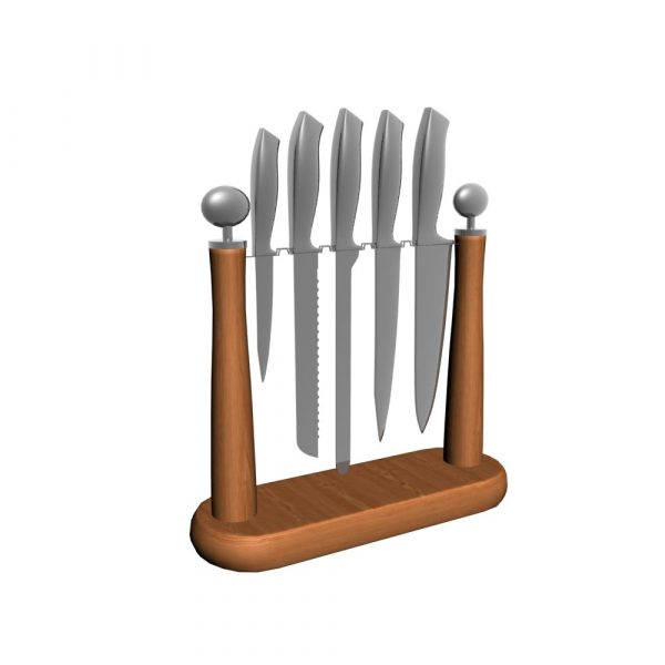 Knife Stand 3d Models 138