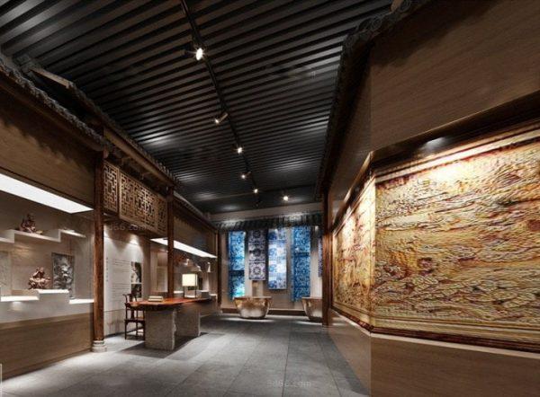 Museum Interior Scene 013