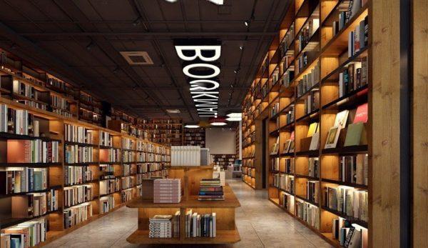 library Interior Scene 013