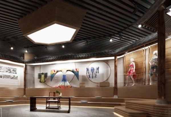 Museum Interior Scene 014