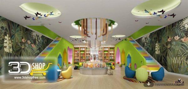 Kindergarten Interior Scene 018