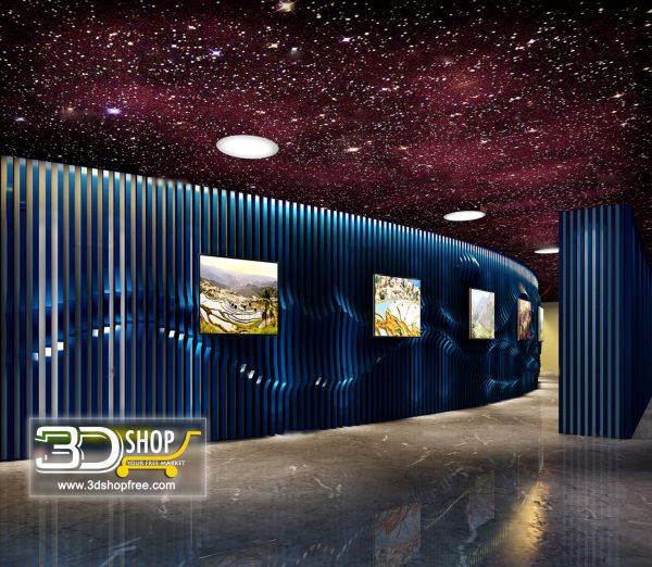 Lobby 3d Max Interior Scene 018