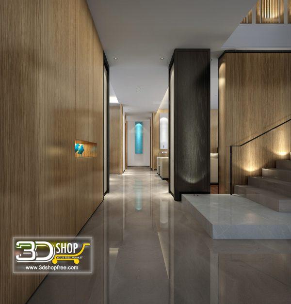 Lobby 3d Max Interior Scene 022