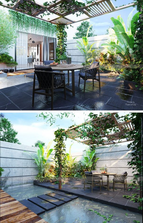 Terrace 3d Max File Corona Render 022