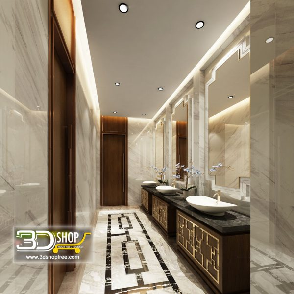 043 Bathroom Interior Scene