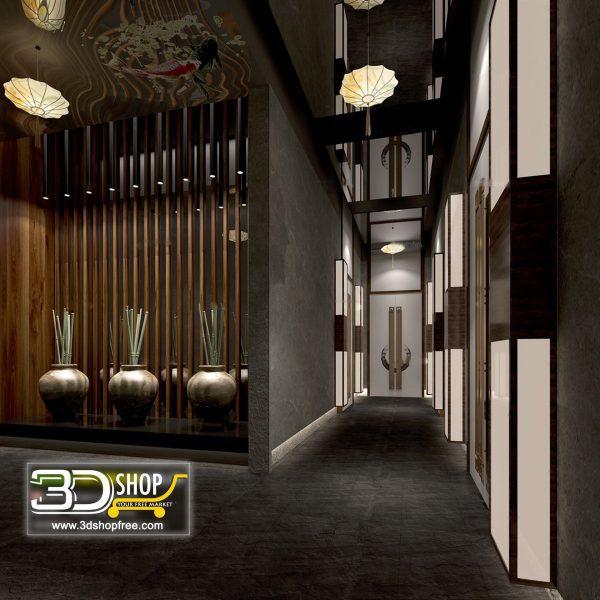 044 Lobby 3d Max Interior Scene