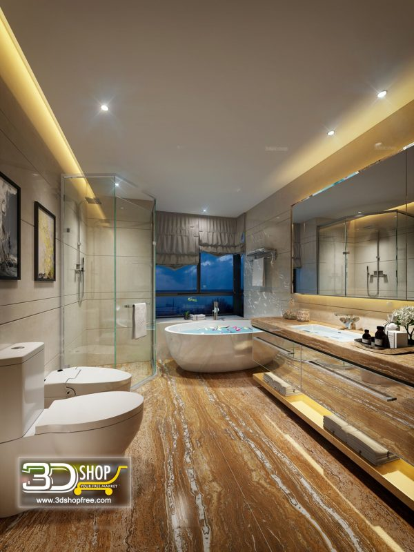 059 Bathroom Interior Scene