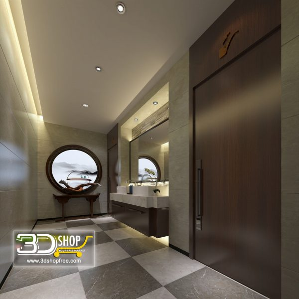 062 Bathroom Interior Scene
