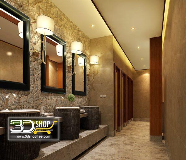 063 Bathroom Interior Scene