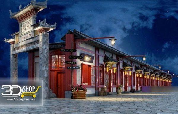 Chinese Exterior Scene 063