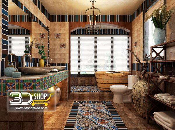 064 Bathroom Interior Scene