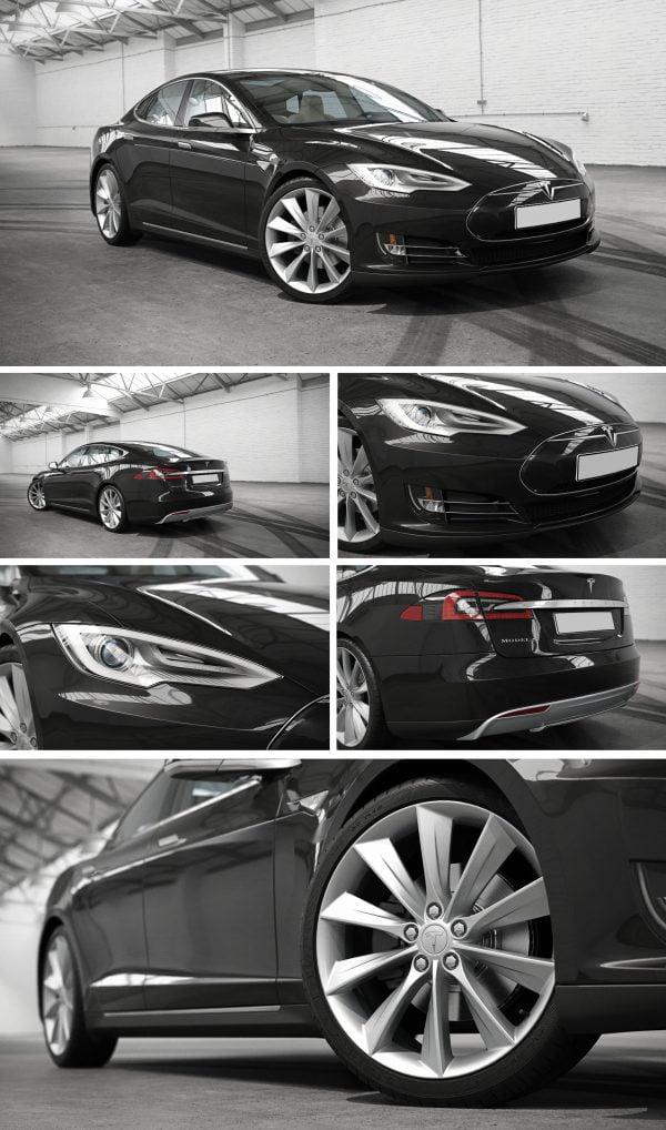 Tesla Car 3d Model Free Download 064