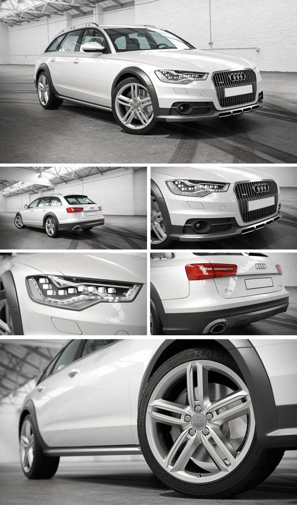 Audi Car 3d Model Free Download 065